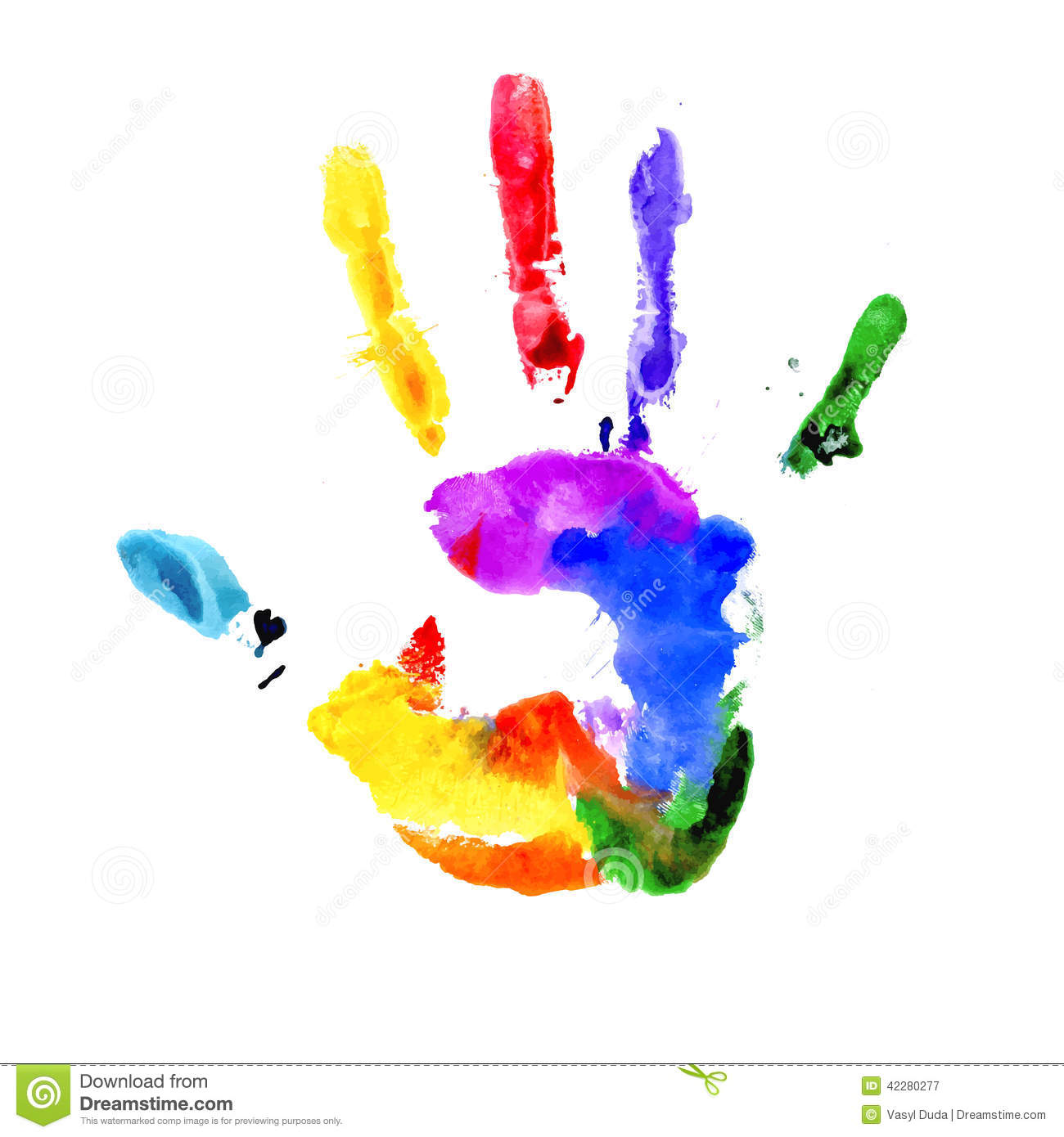 handprint in vibrant colors of the rainbow stock vector toy train clip art toy train clipart black and white