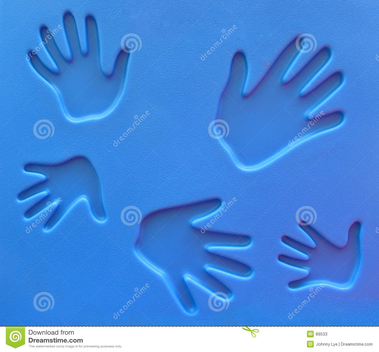 Handprints παιδική χαρά