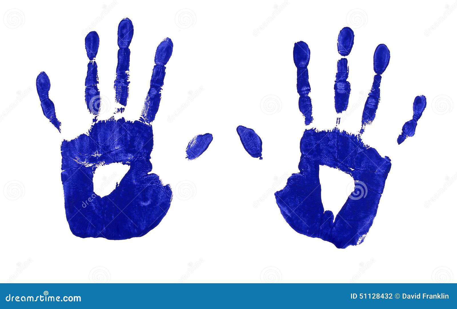 hand print hand - photo #37