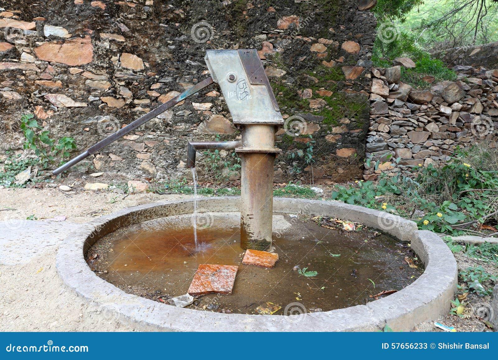 Grundwasser Trinken