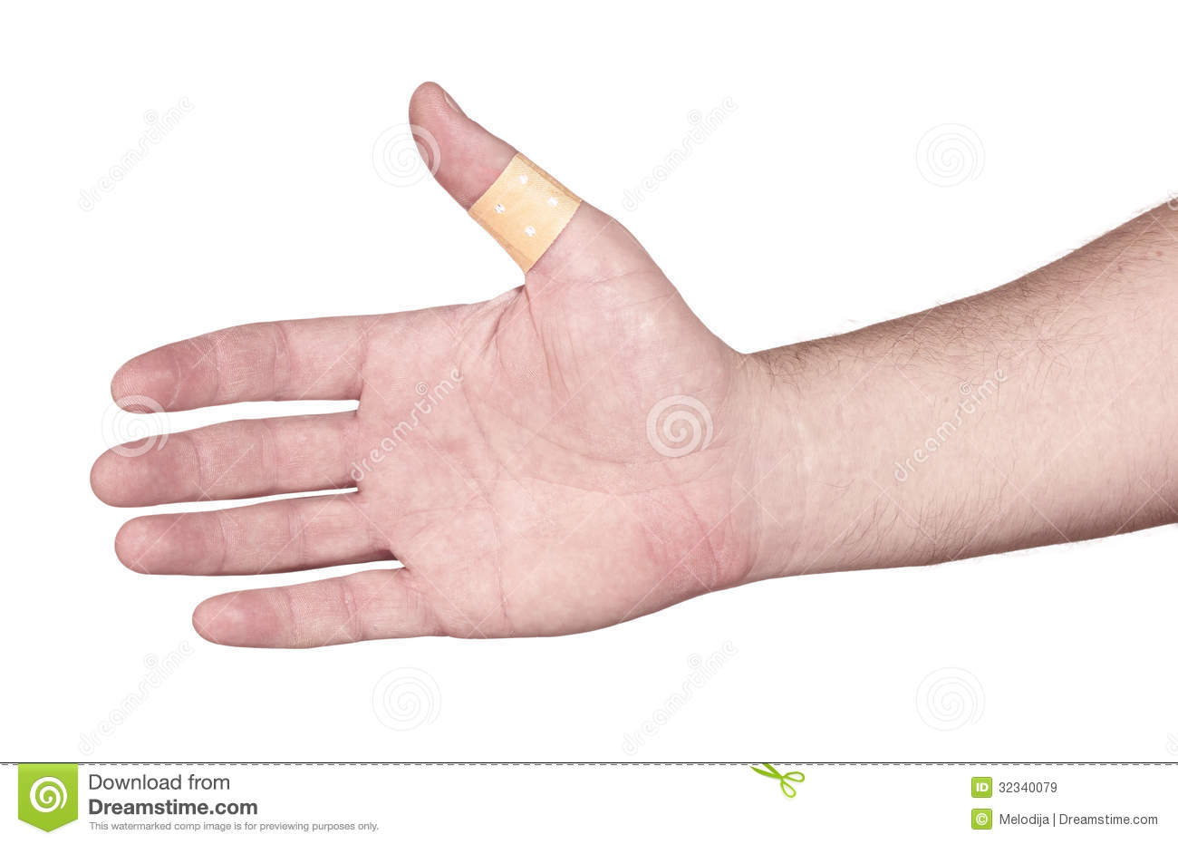 Band Aid On Finger Clipart Hands with band-aid adesive