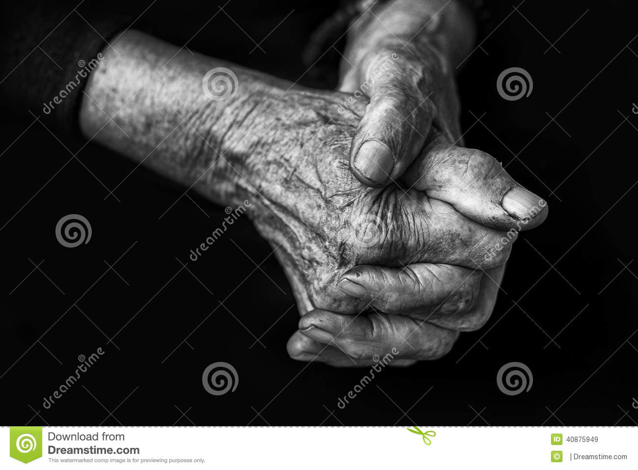 Préférence Black and White Hands stock image. Image of manicure - 19039491 HL84