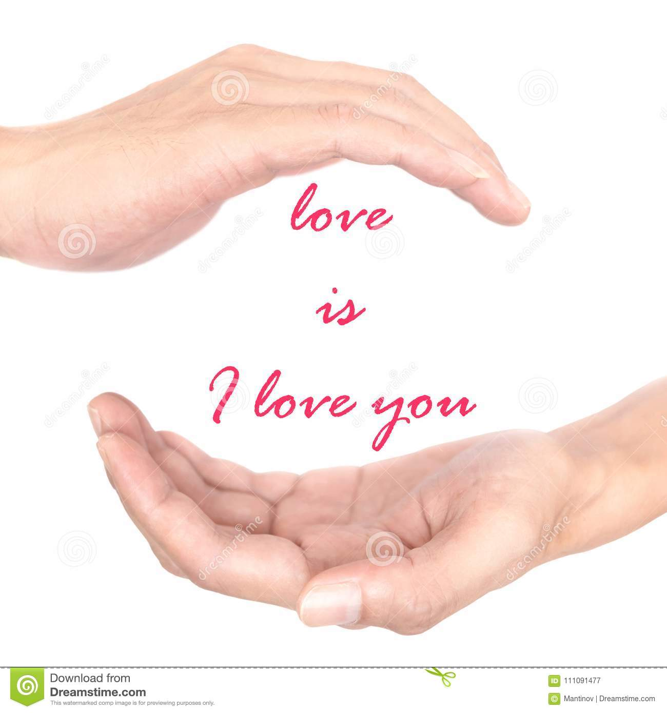 Hands Concept For Love Stock Image Image Of Supernatural 111091477