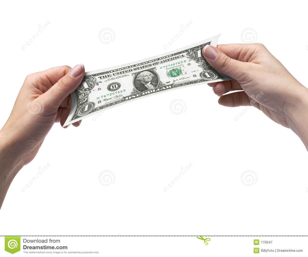 Hands and Dollar