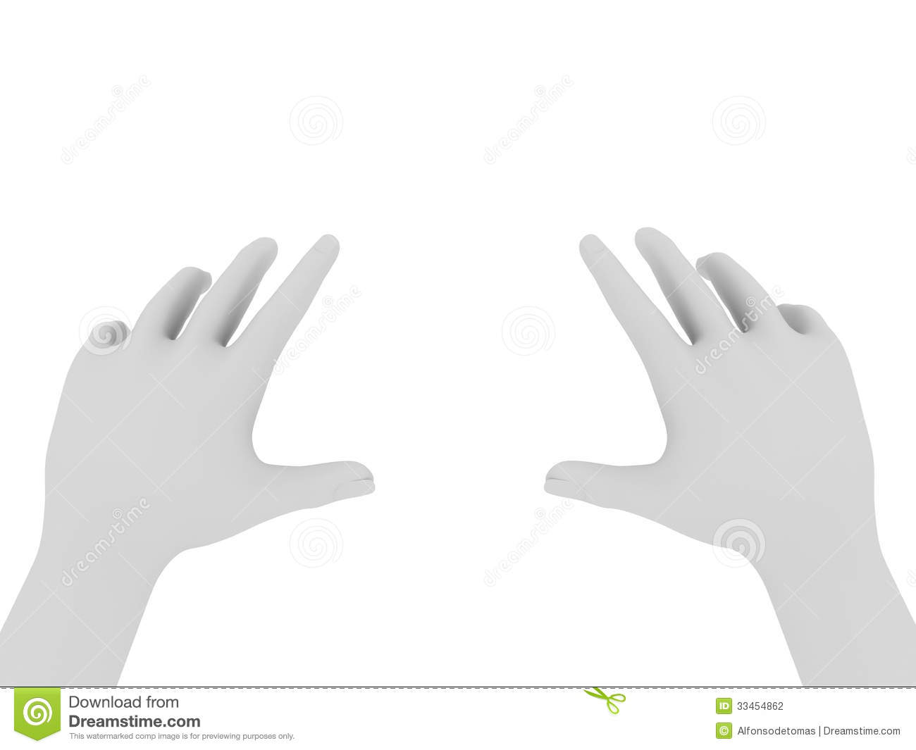 hands getting something stock photography image 33454862
