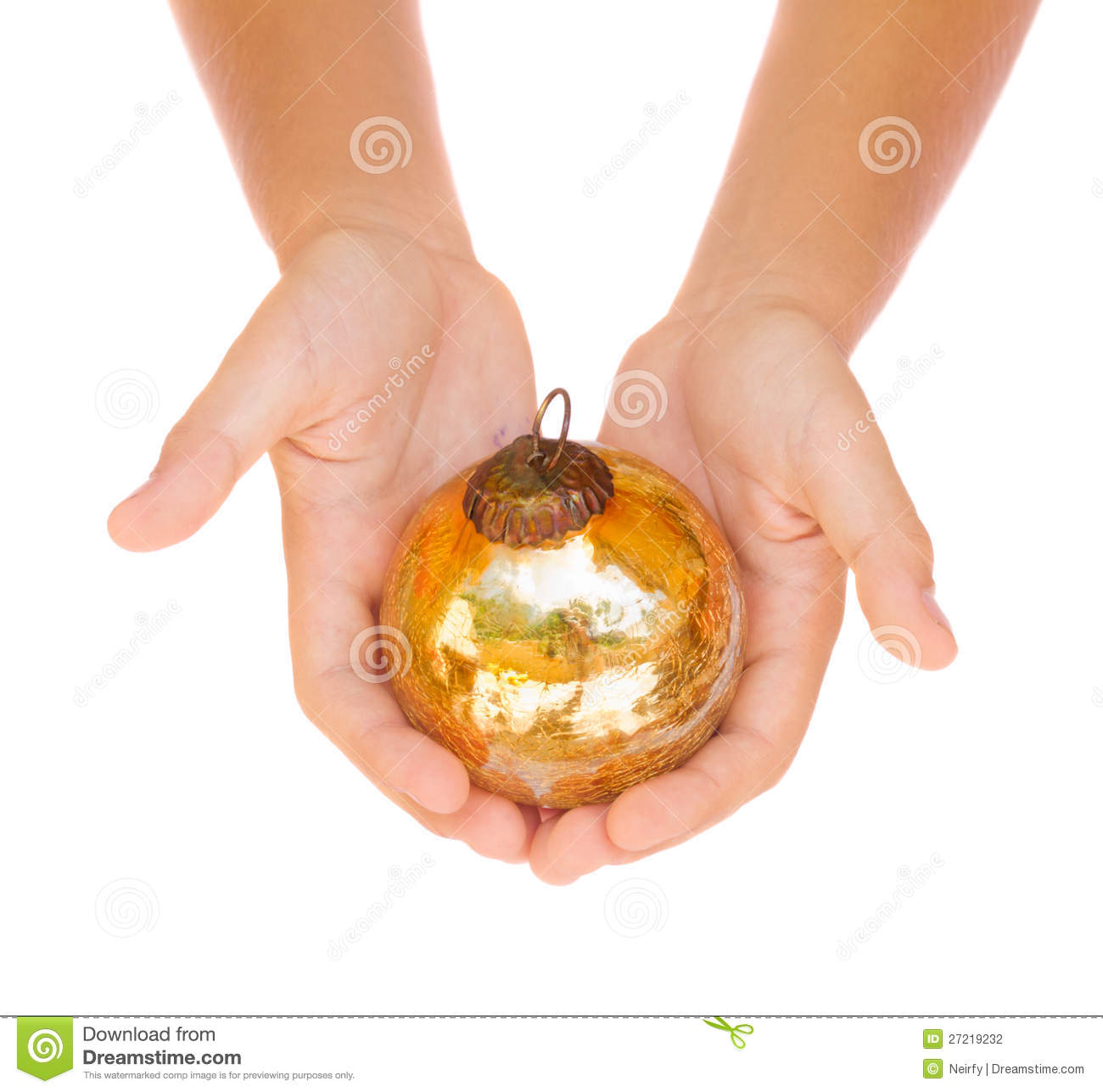 Hands Holding Christmas Ball Stock Photography - Image: 27219232: dreamstime.com/stock-photography-hands-holding-christmas-ball...