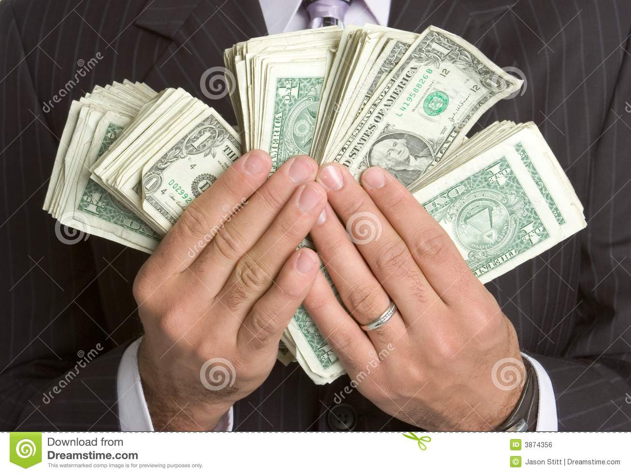 Hands Holding Money stock photo. Image of people, closeup ...Holding Money In Hand