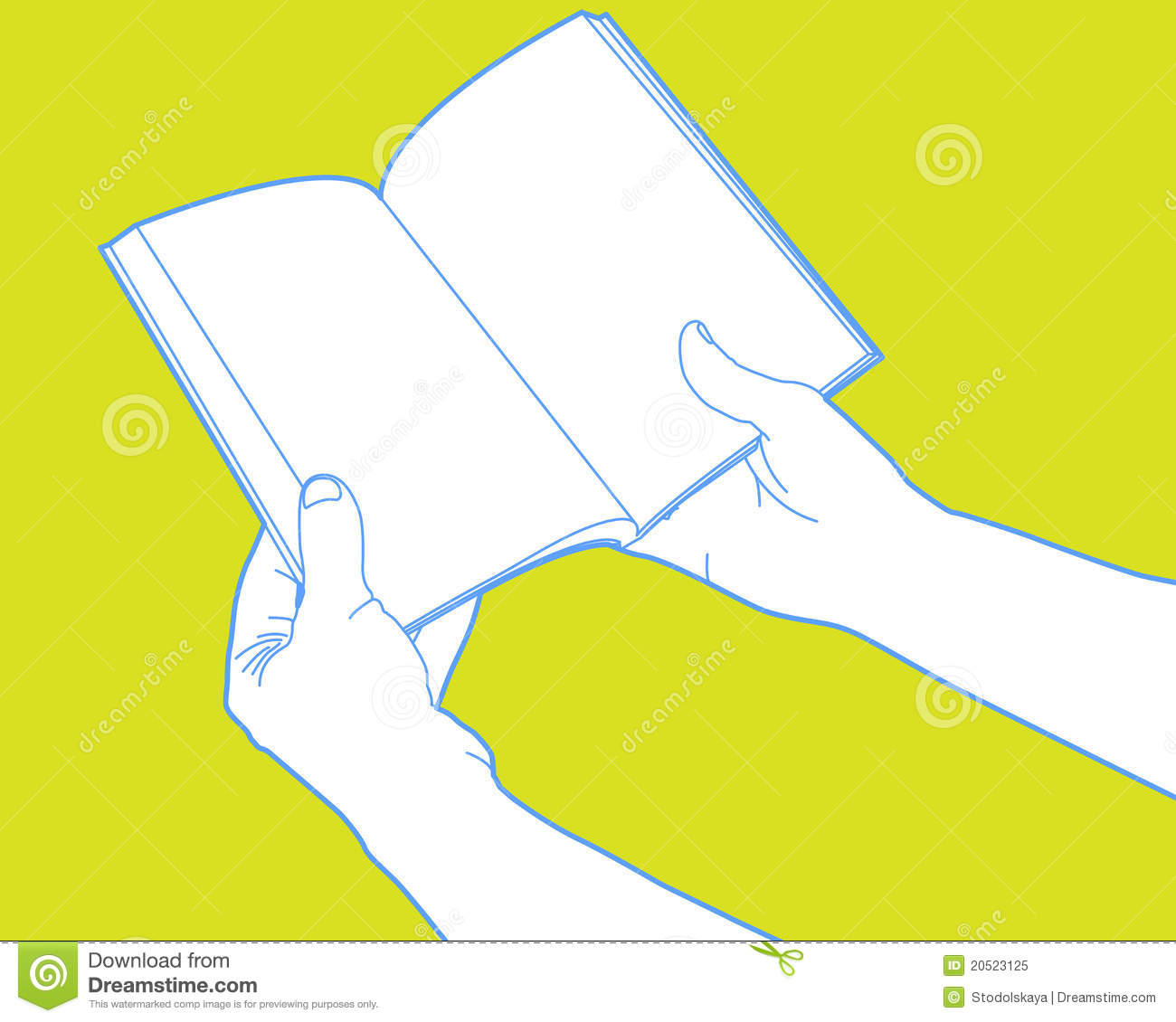 hands holding open book royalty free stock photo image