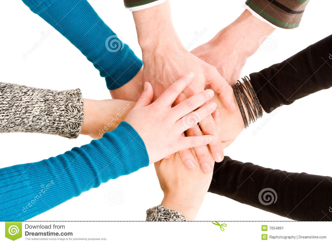hands joined together stock image image of finger achievement