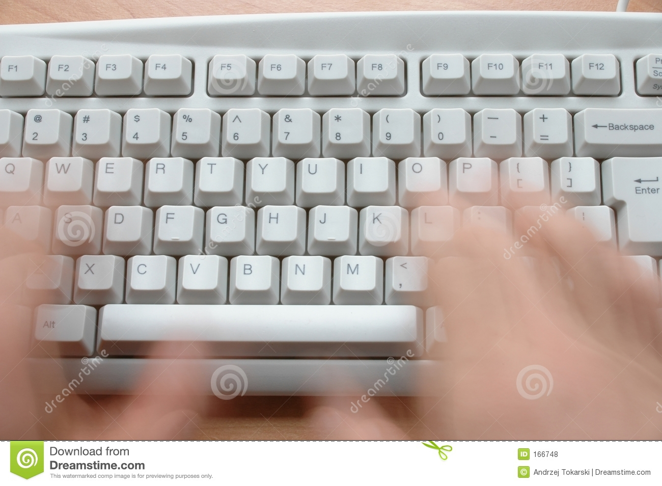 Hands and Keyboard