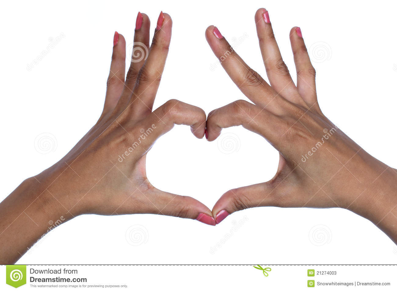 making heart by hands - photo #47