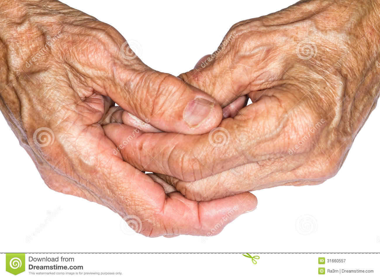 Hands Of The Old Woman Royalty Free Stock Photography ...
