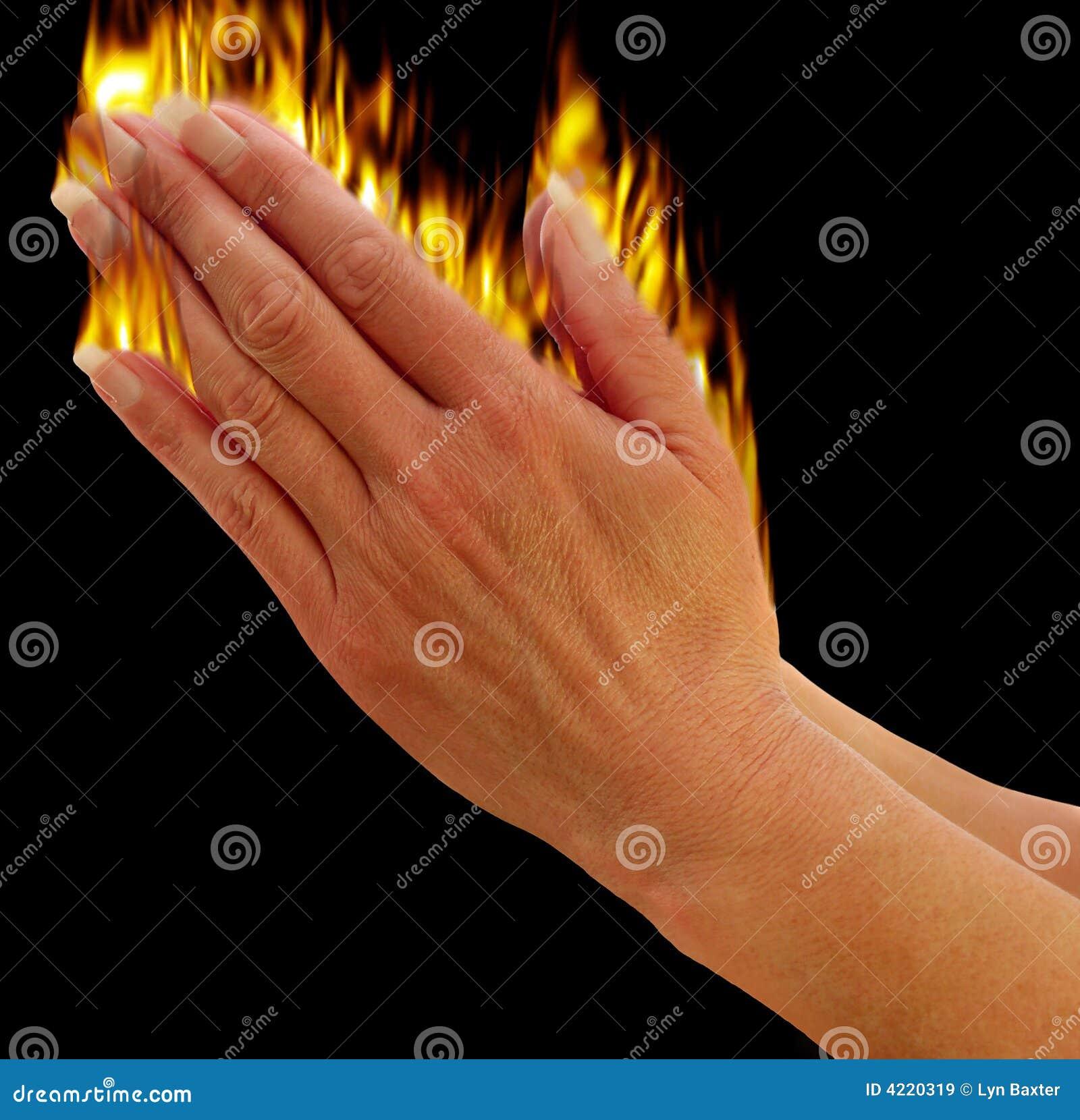 Hands Praying Royalty Free Stock Images Image 4220319