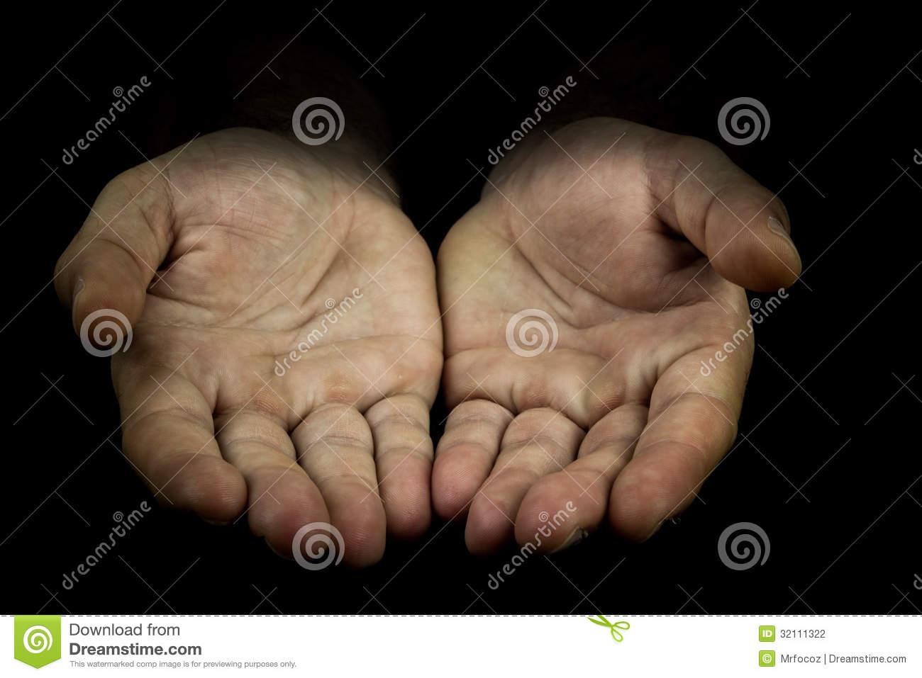 Hands Reaching Out Towards Camera Stock Photography ...