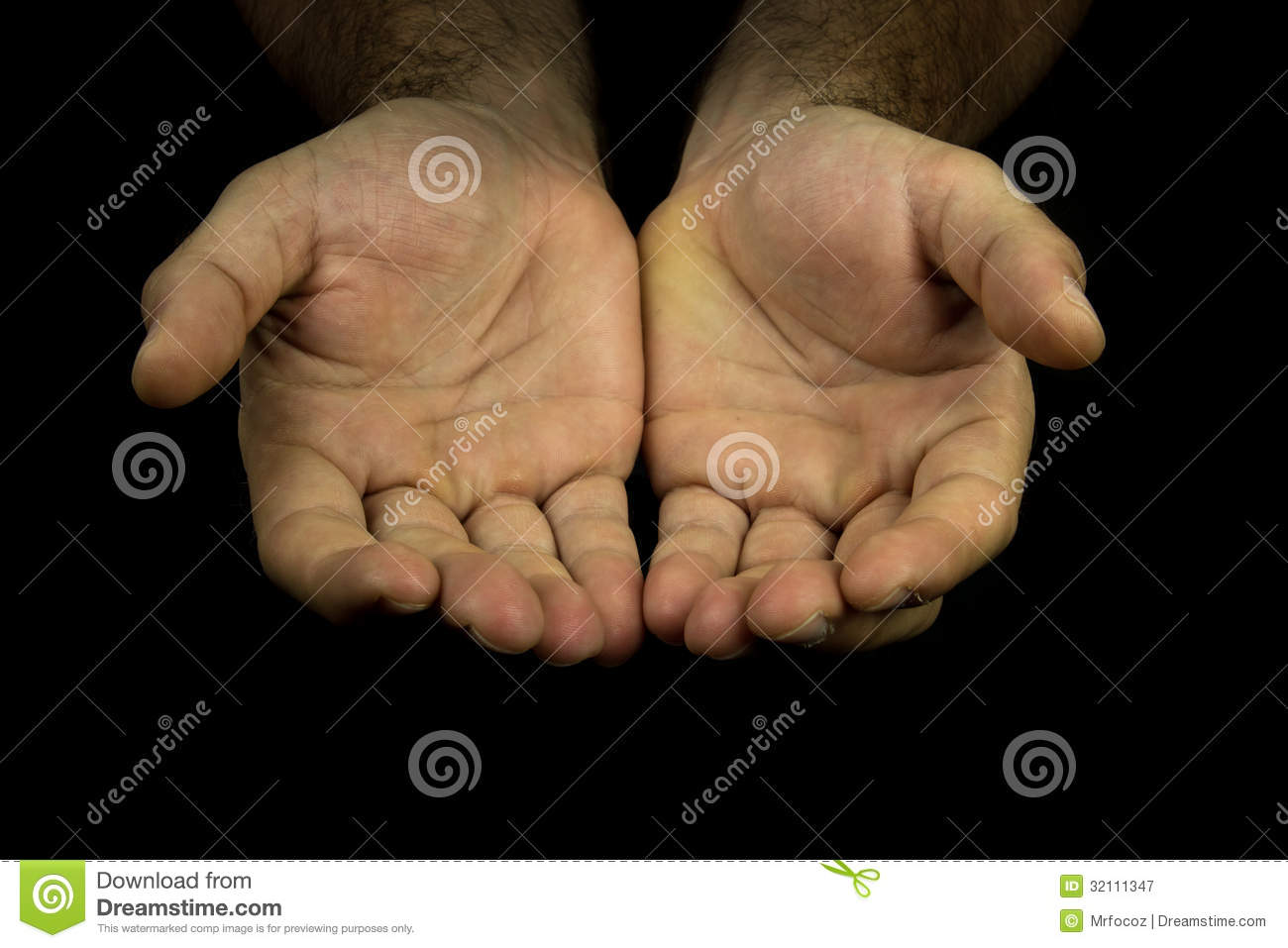 Hands Reaching Out Towards Camera Royalty Free Stock ...