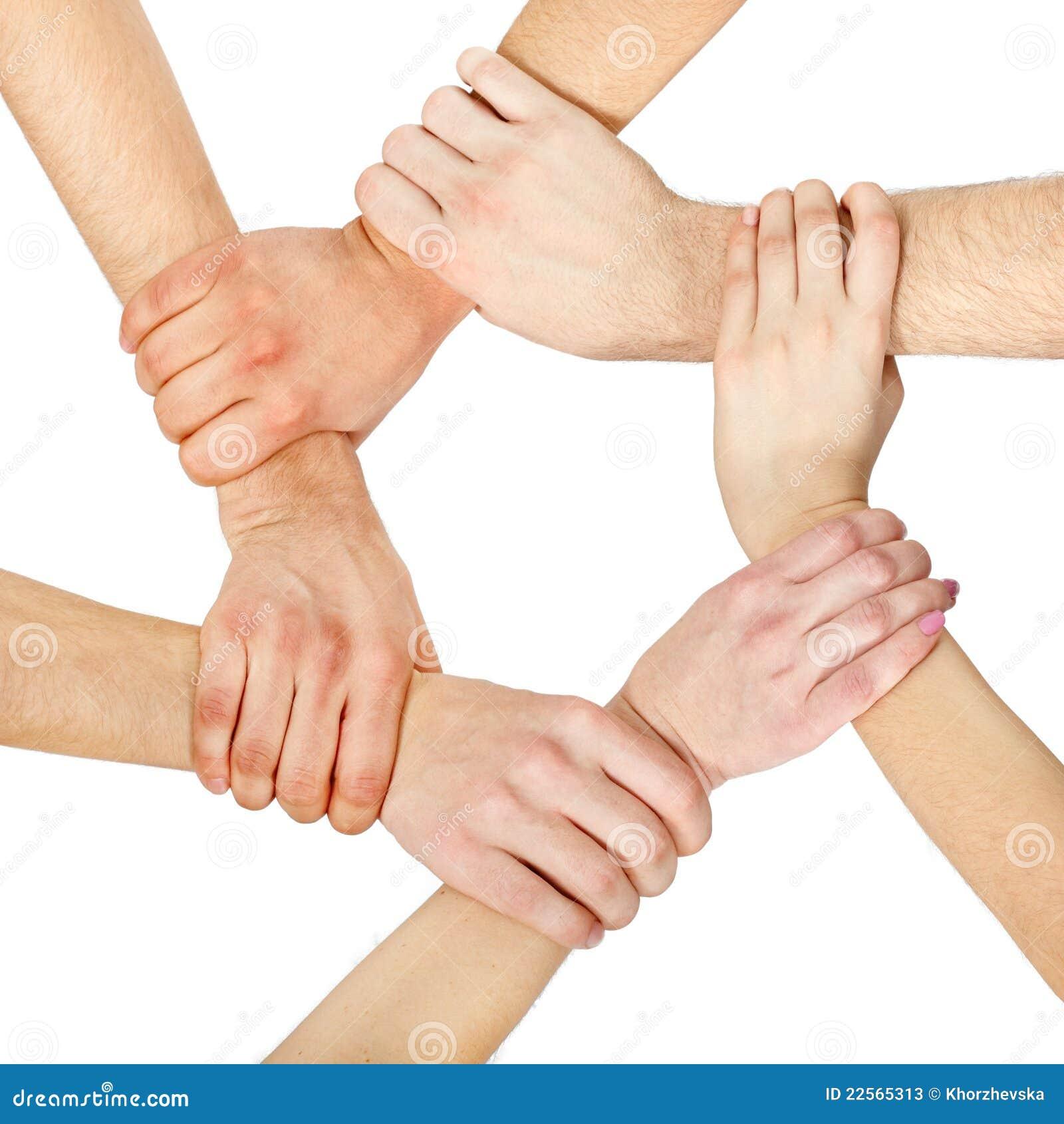 Hands Ring Teamwork Stock Photos - Image: 22565313