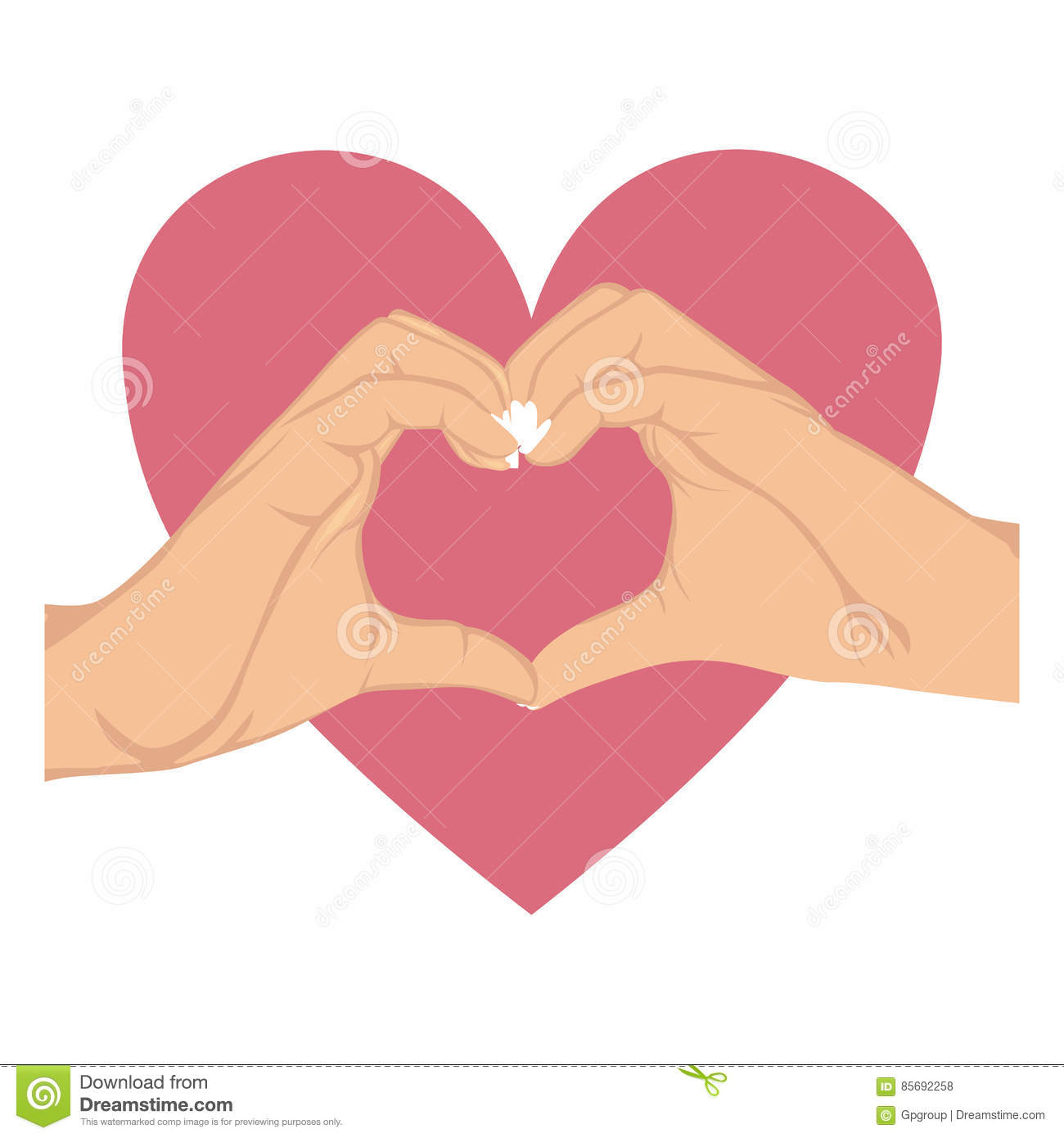 Hands in shape of heart in symbol support breast cancer and big hands in shape of heart in symbol support breast cancer and big heart buycottarizona Image collections