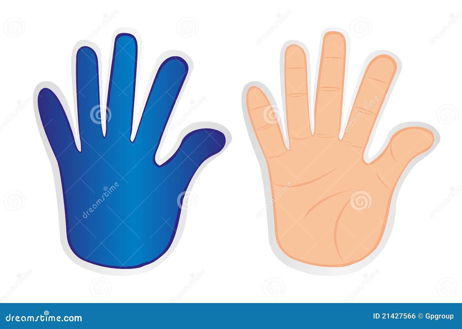 Hands stickers