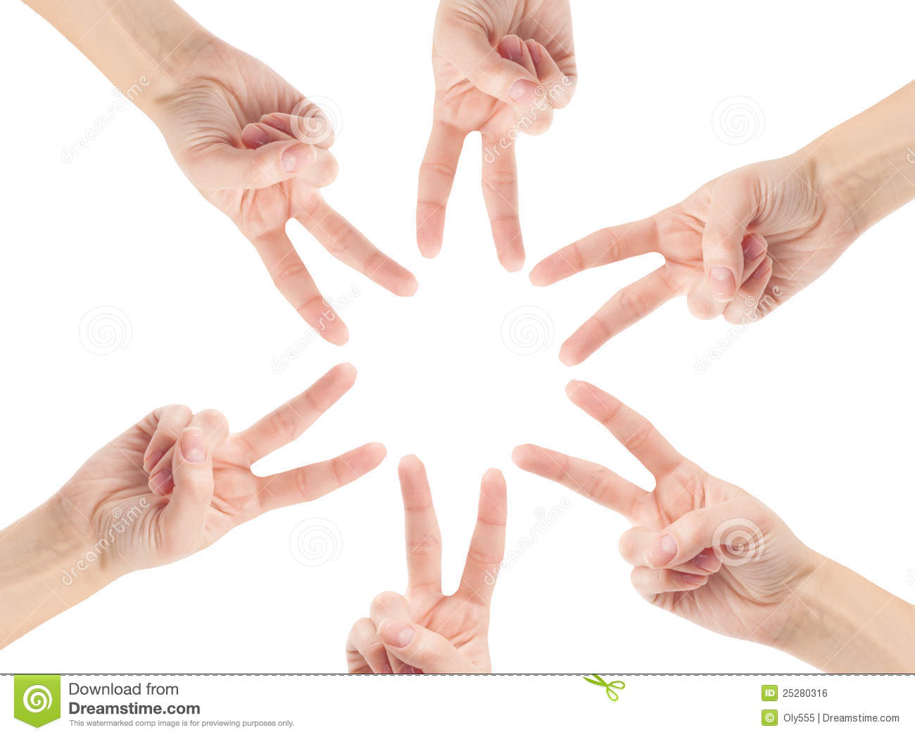 Hands Of Teamwork Royalty Free Stock Image - Image: 25280316