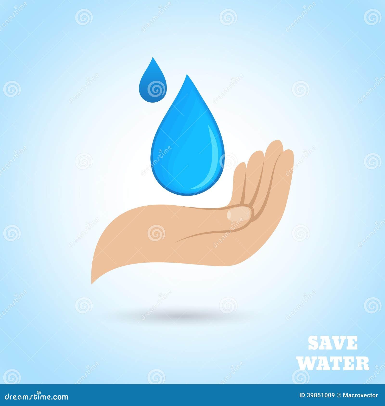 Save Water - Poster Stock Photos - Image: 34144493