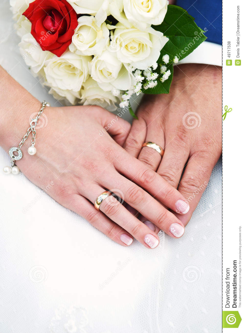 hands with wedding rings stock photo image 49717538