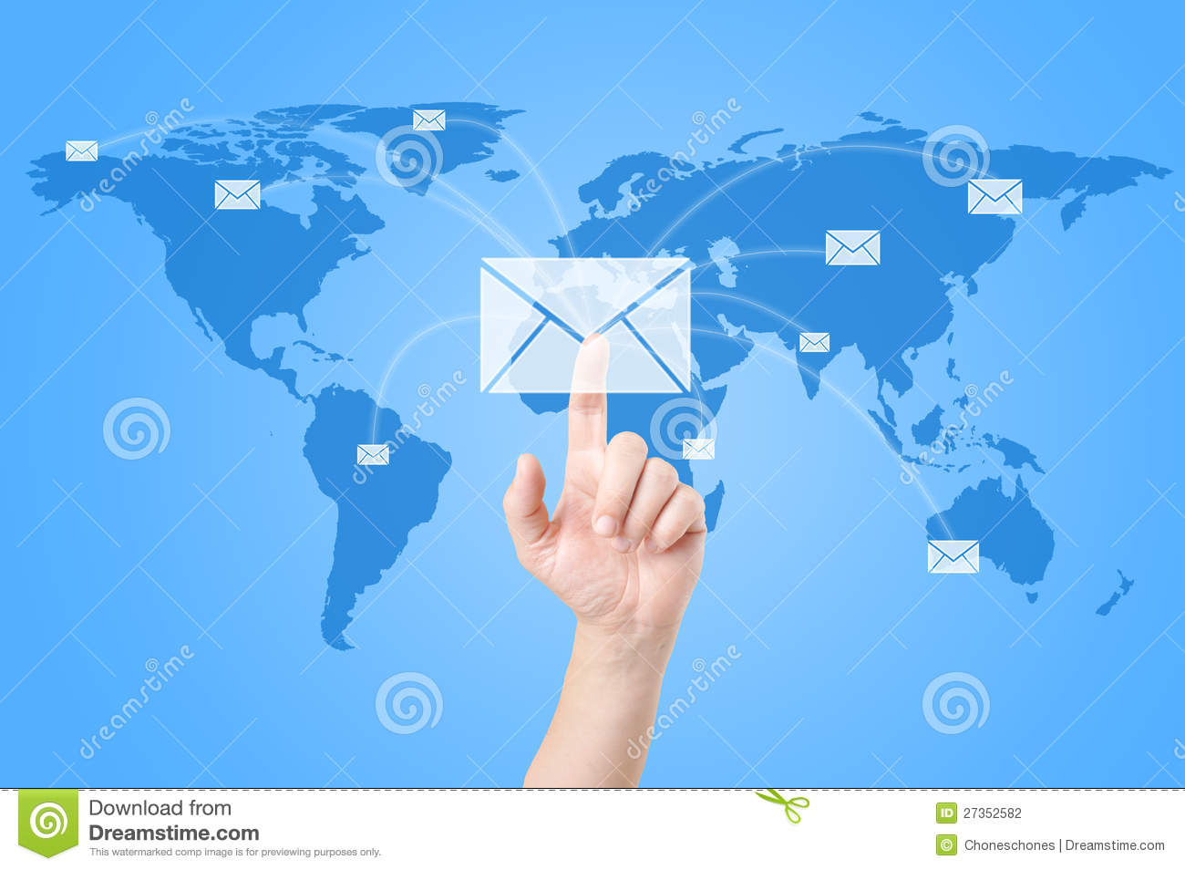 Hands with world mail delivery on world map stock illustration mail delivery on world map royalty free stock photo gumiabroncs Images