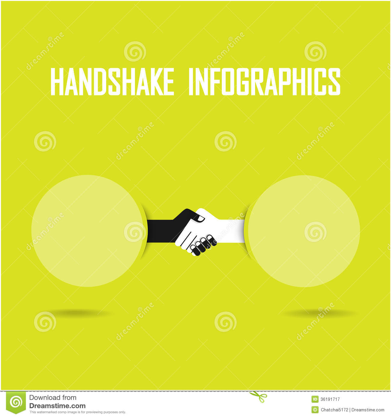 Handshake Abstract Sign Design Template Business Royalty