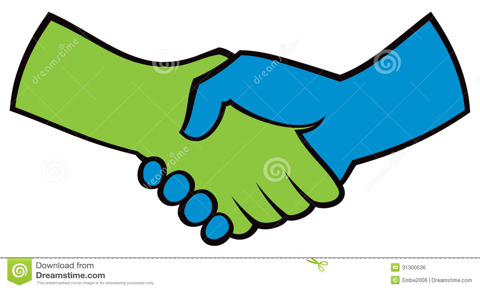 Handshake Logo Icon