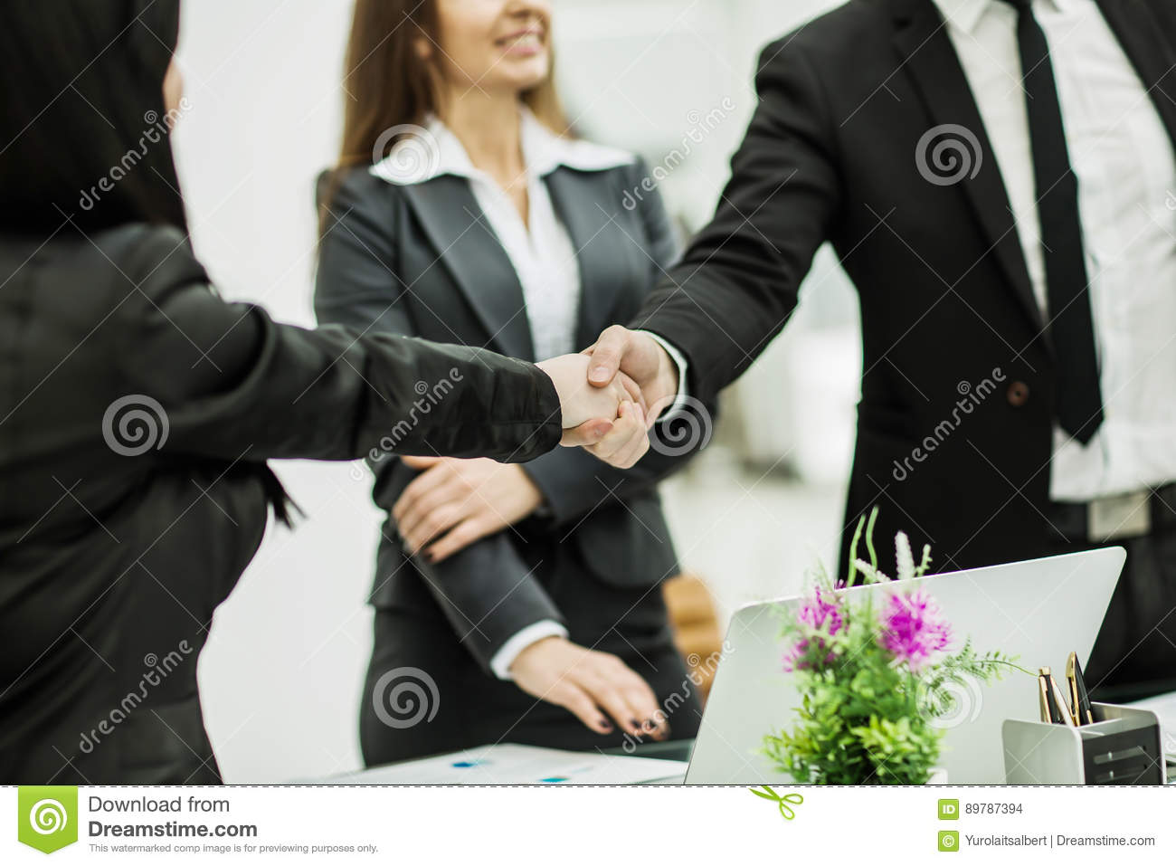 Business people handshake greeting deal at work photo free download - Business Handshake Office Successful Workplace Success Deal Gesture Friendship Clear Company People Bright Staff Finance Positive Greeting