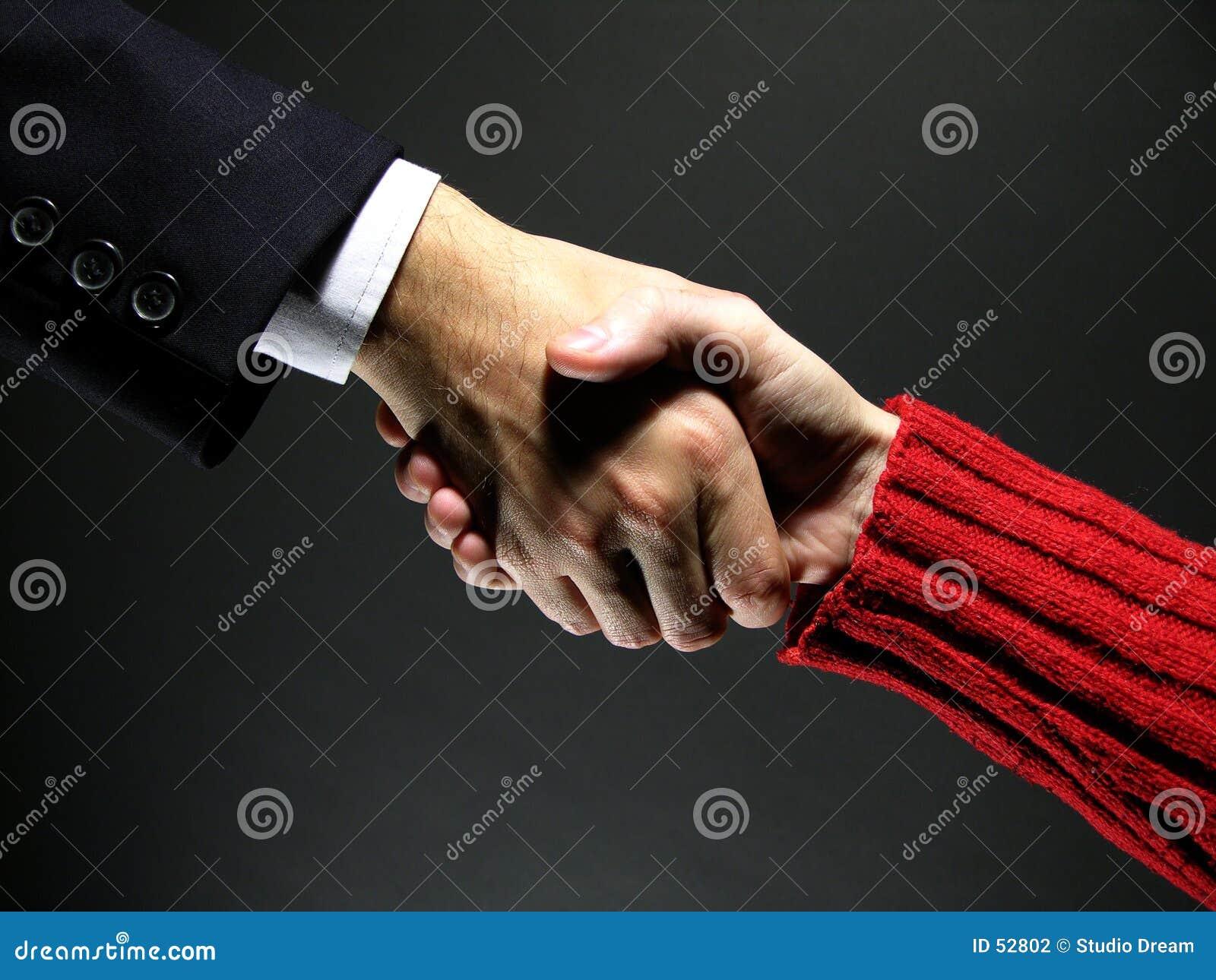 Handskakning 3