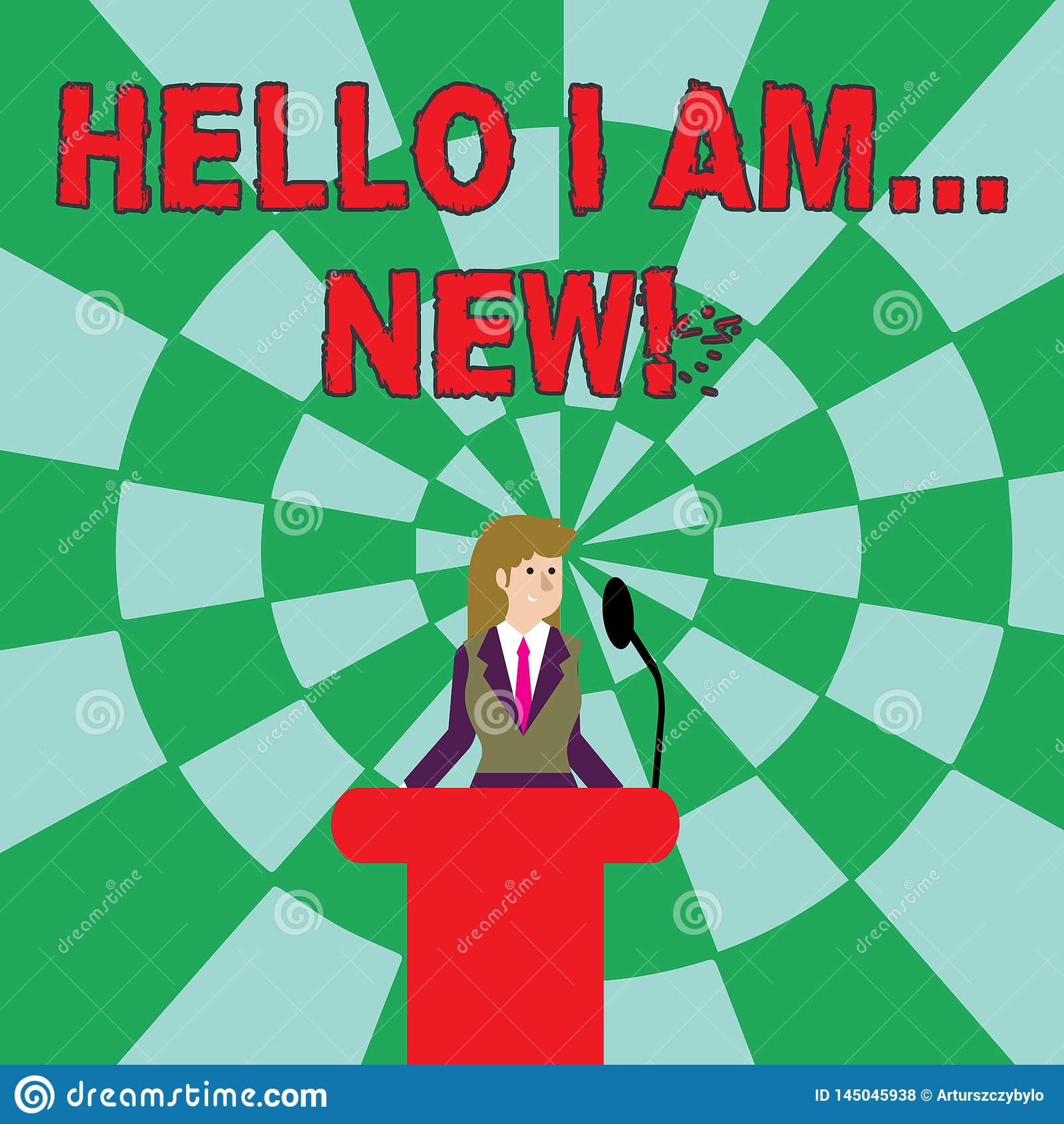 Handskrifttext Hello ?r jag ny Begreppsbetydelse som anv