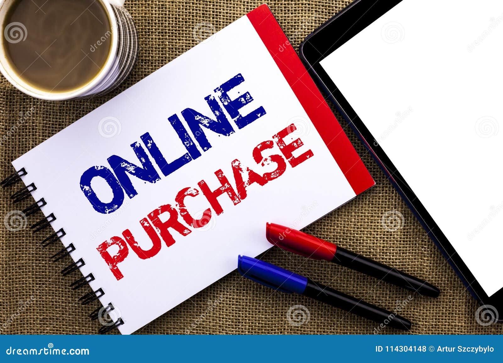 Handskrifttextonline-köp Saker för begreppsbetydelseköp på det netto går att shoppa, utan att lämna hem- skriftligt på anteckning