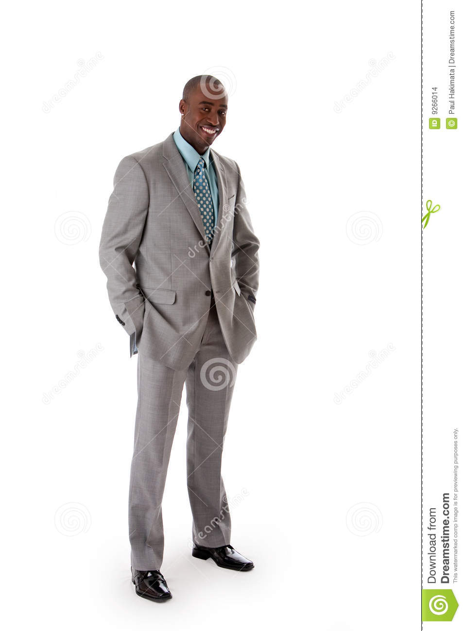 Handsome African business man