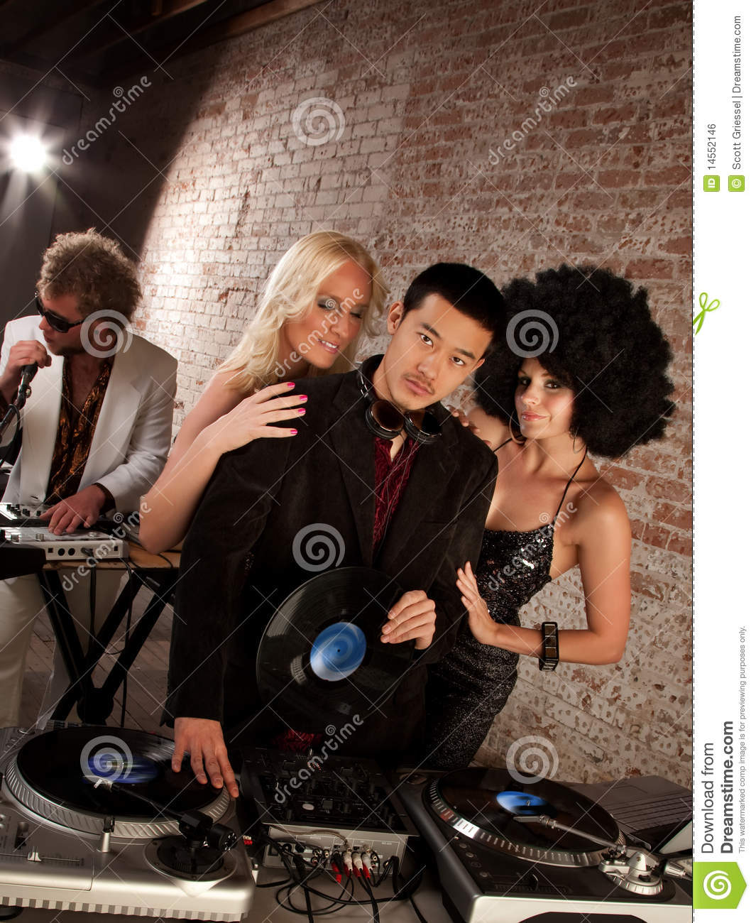 Invested several Asian dj s racier