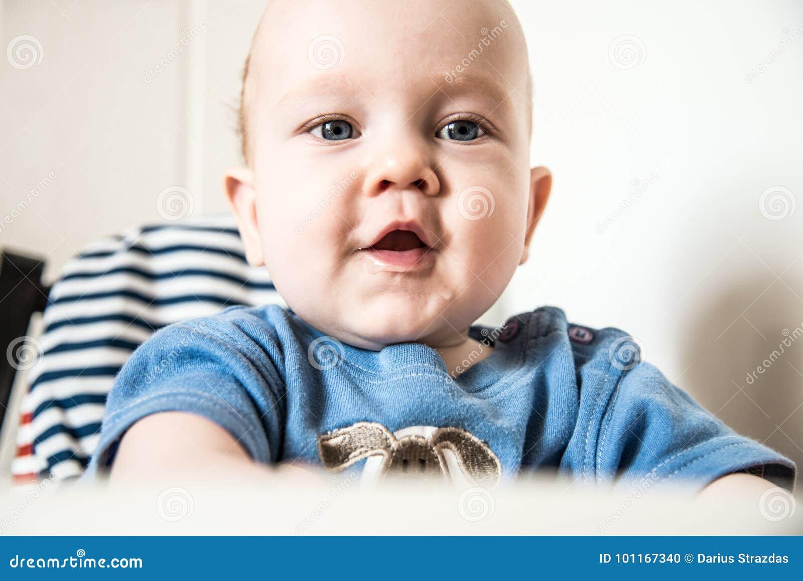 Handsome baby boy look