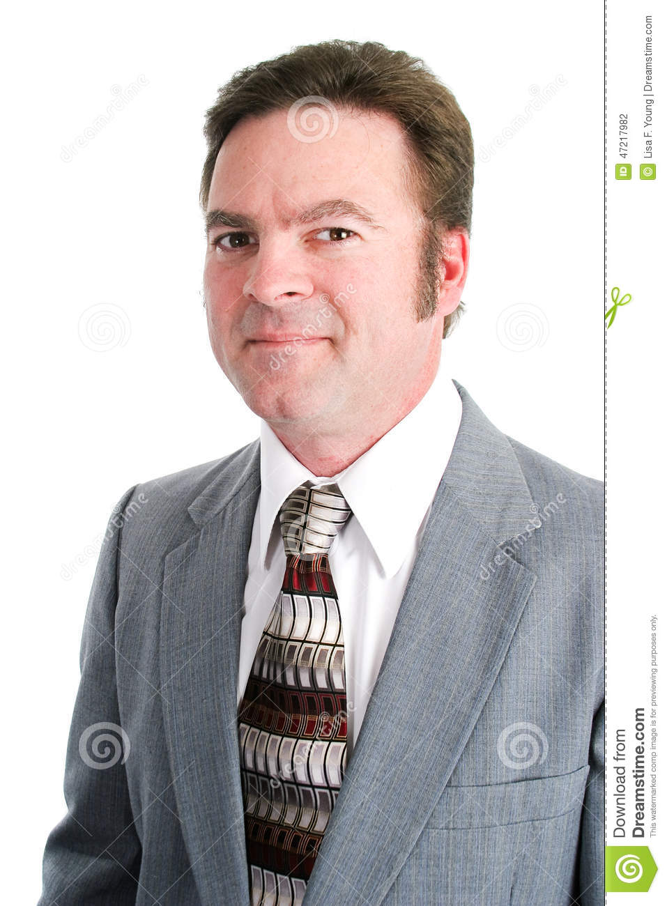 Handsome Businessman in His Forties