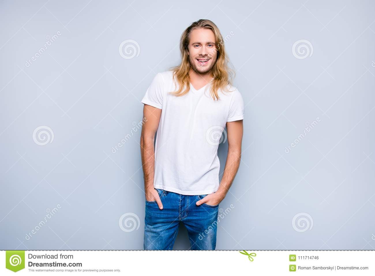 Hair with white guys long 23 Most