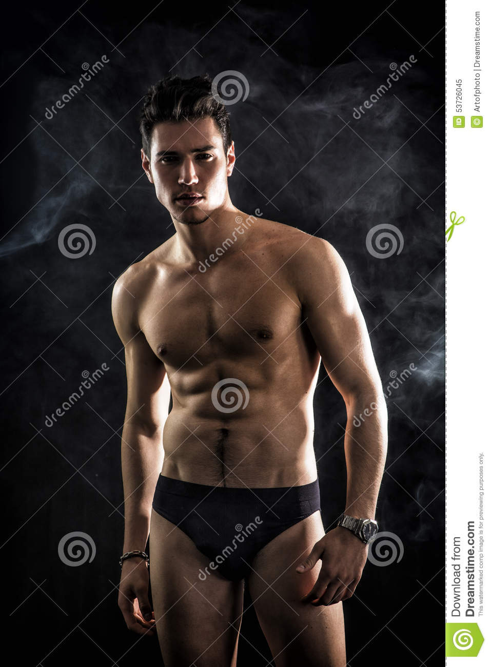 Young Fit Man Stock Photo