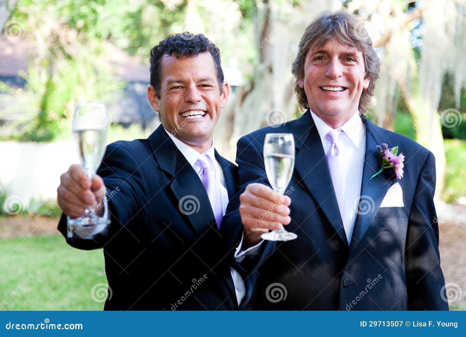 Gay Wedding Couple