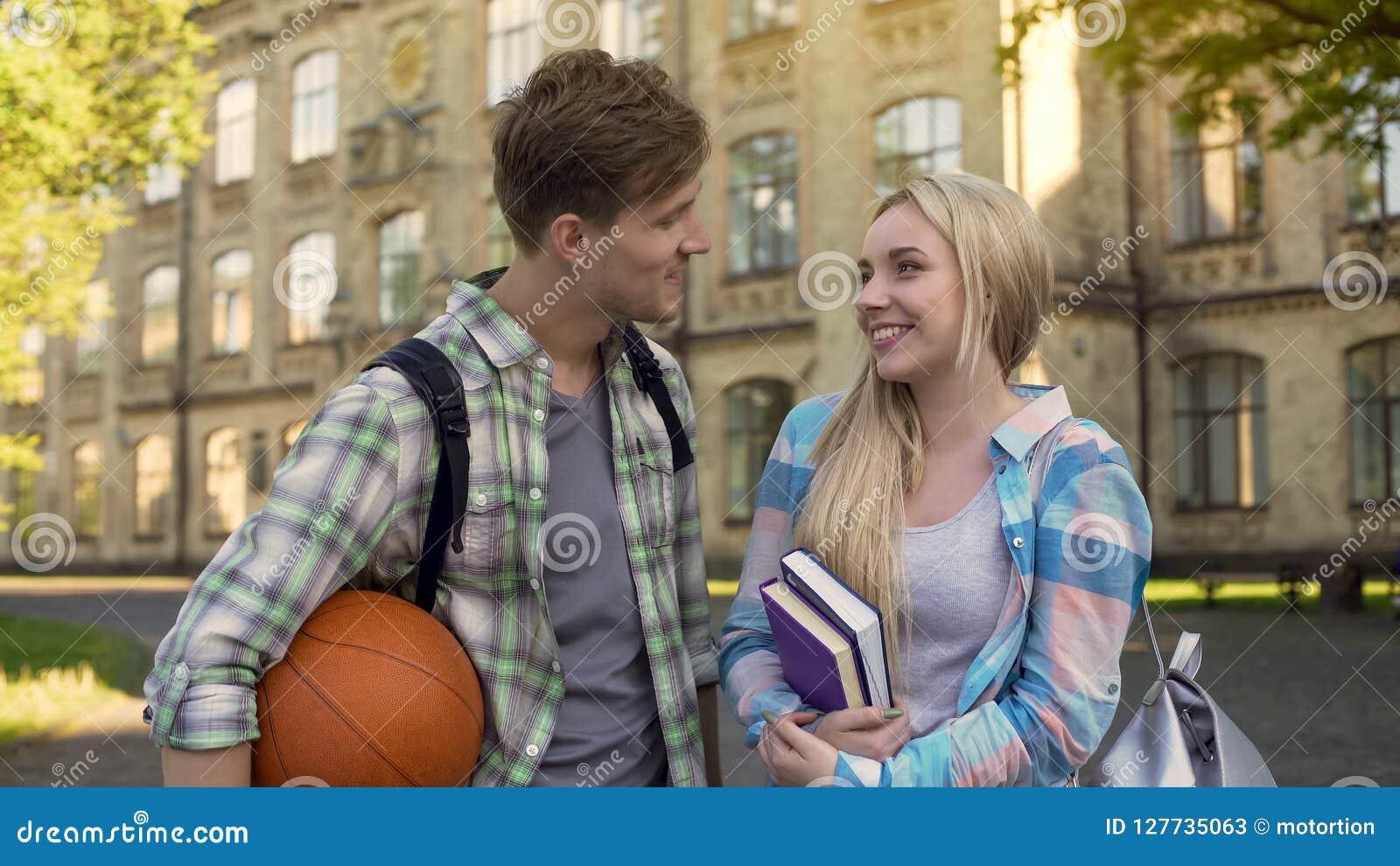 guy flirting with girl