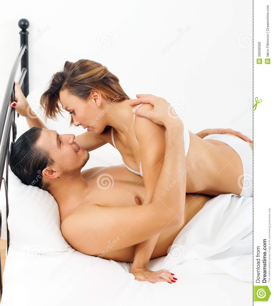 Handsome Guy Having Sex With Woman Stock Photo - Image -9206