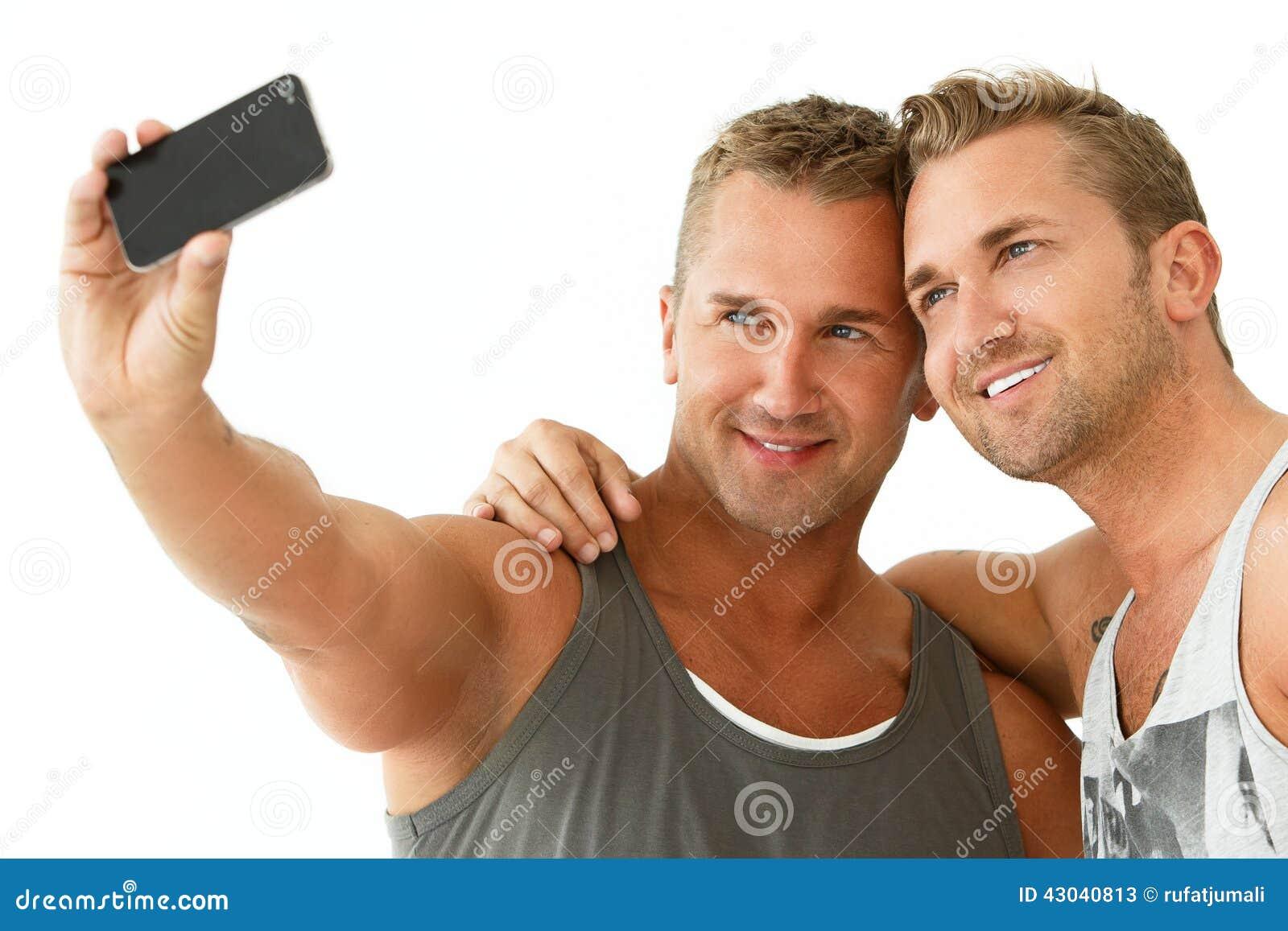 Handsome Guys At Home Stock Image | CartoonDealer.com