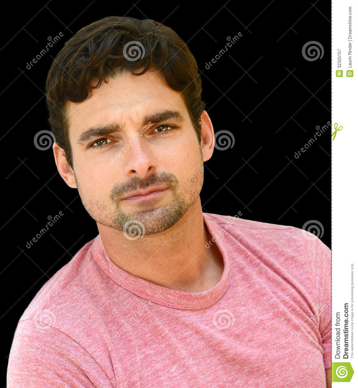 Handsome Italian Man Royalty Free Stock Photography