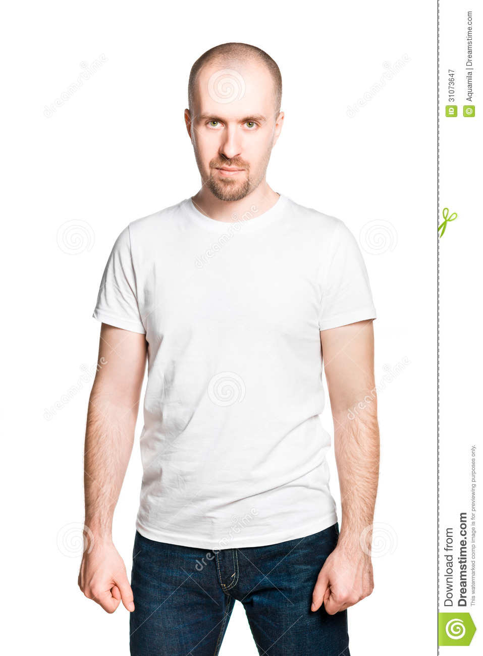 Young Handsome Man In Jeans Shirt Stock Image Hd | Male Models Picture