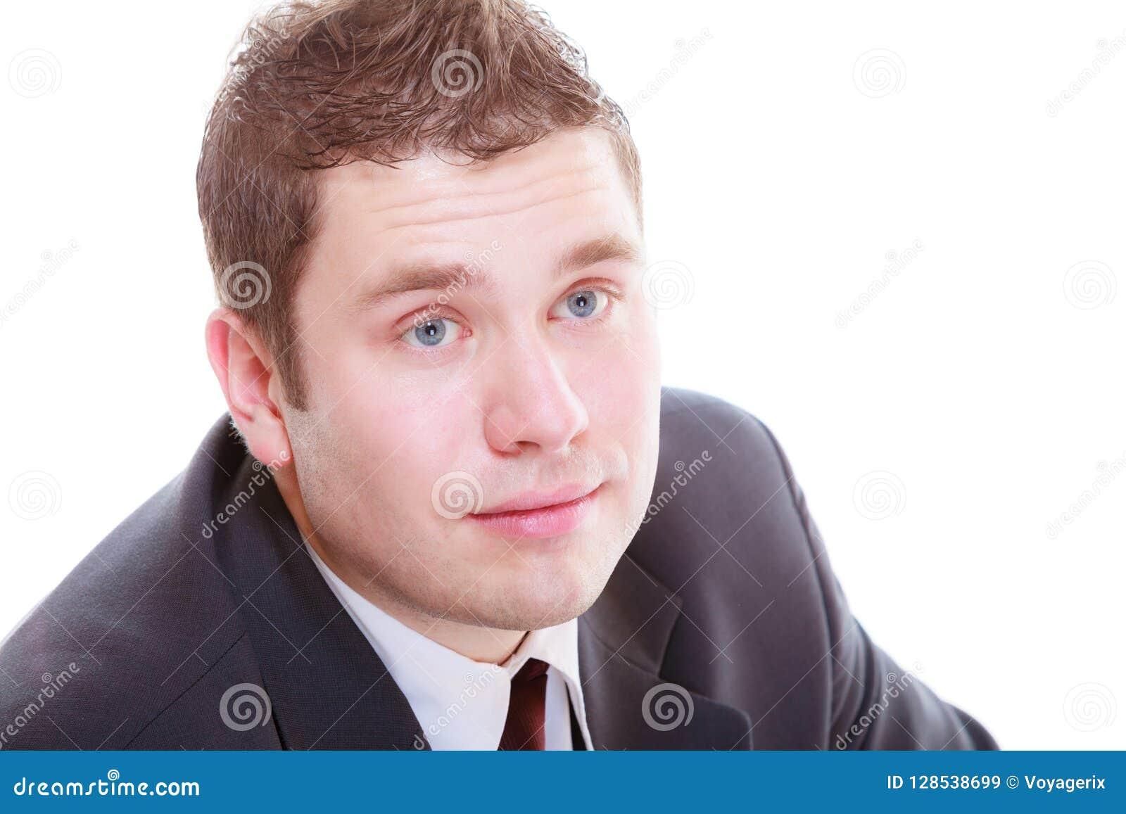 Handsome man in elegant suit
