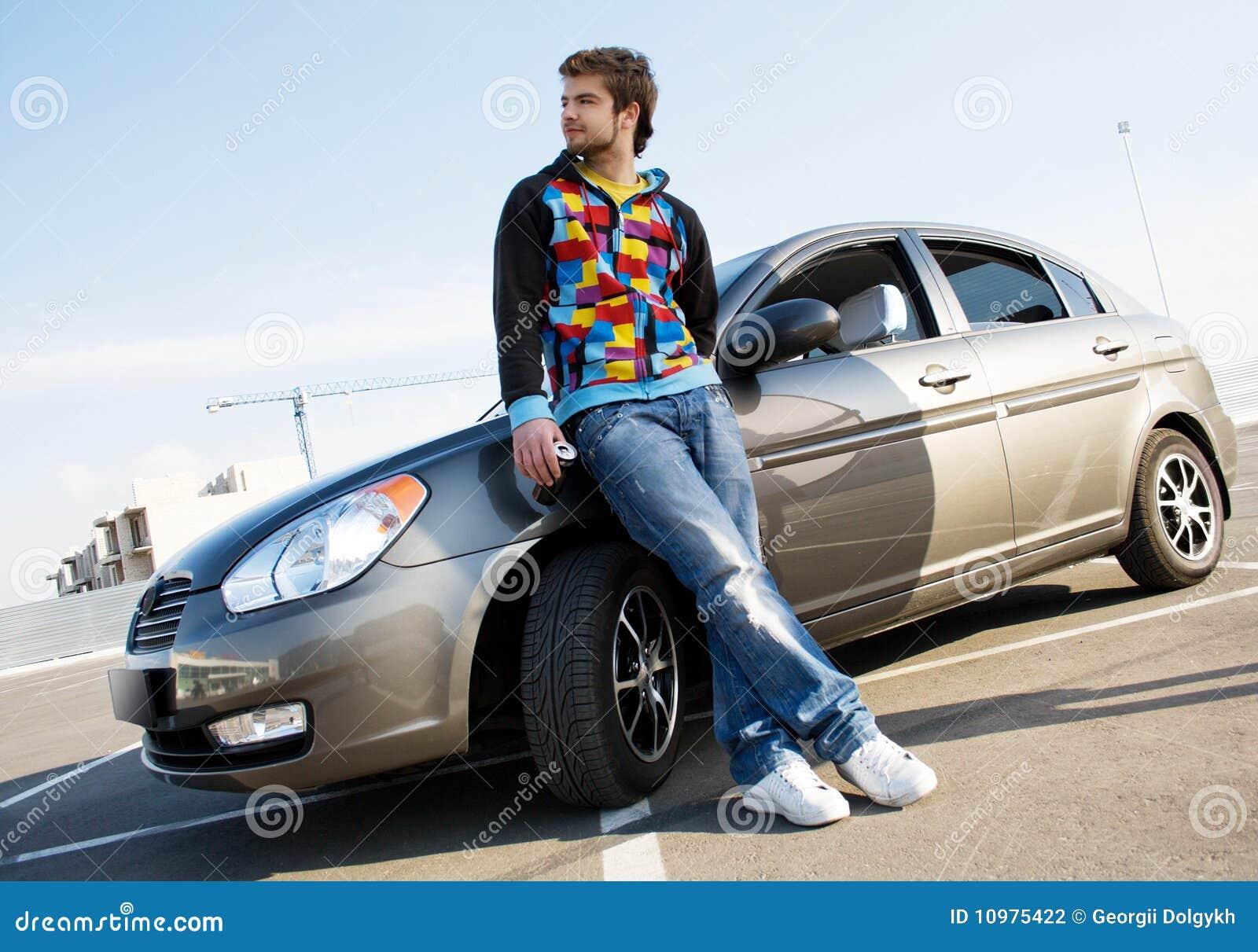 Идеи для фото мужчины с машиной