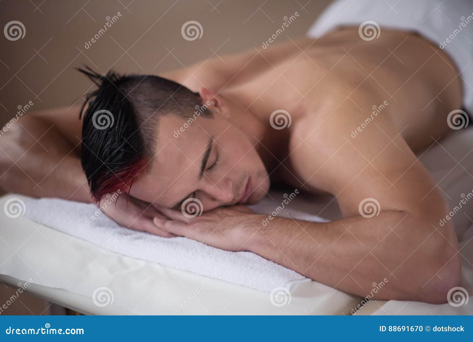 handsome massage