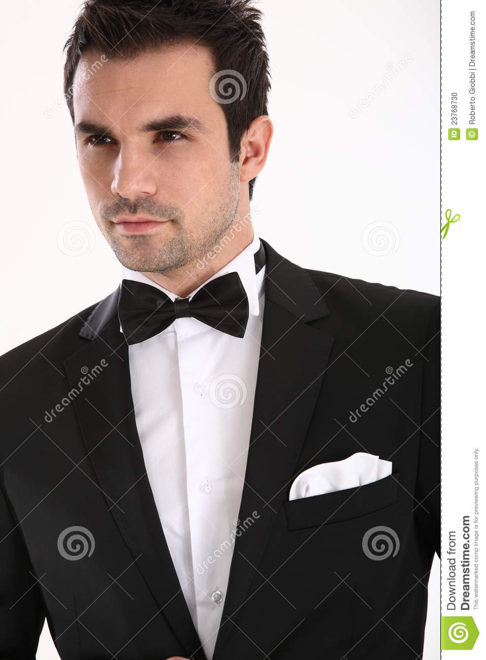 Stock Photo  Handsome man in tuxedoHandsome Man In Tux