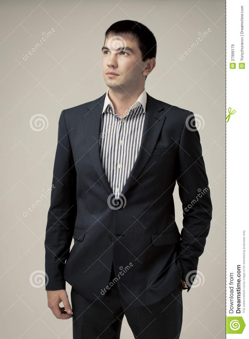 Free Stock Photo Illustration Of A Handsome Man In A ...