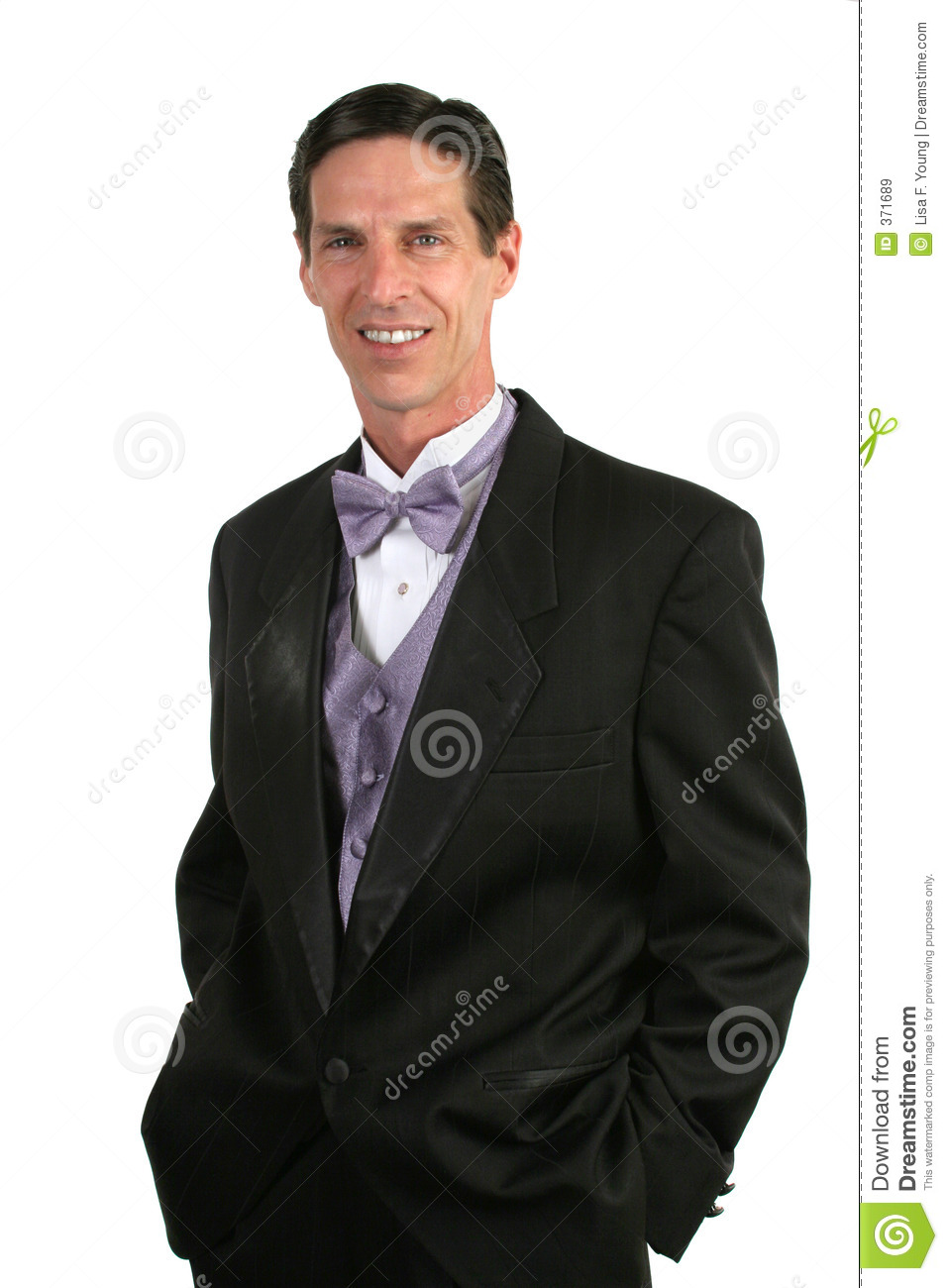 Handsome Man In Tuxedo Royalty Free Stock Images - Image ...